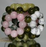 """Octagon Pearlgonite 7 cm """"Orgonite"""" Ball"""