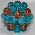 "Pentagon Pearlgonite 3 cm ""Energy"" Ball"
