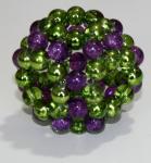 "Oktagon Perlgonit 5 cm ""Orgonit"" Ball"