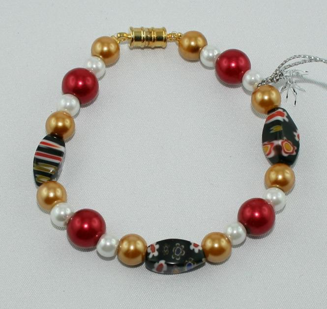 Armband Schwarz-Rot-Gold - UINIKAT