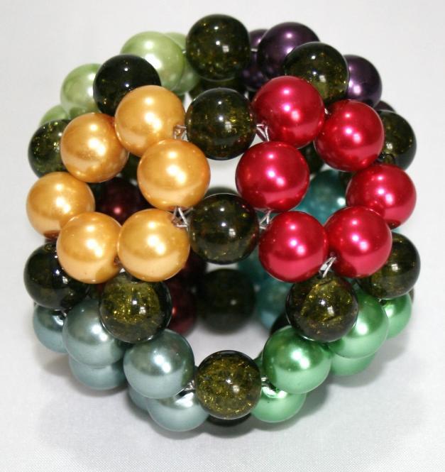 "Oktagon Perlgonit 7 cm ""New Lotos"" Ball"